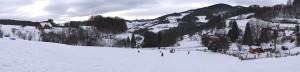 La Tanière sous la neige